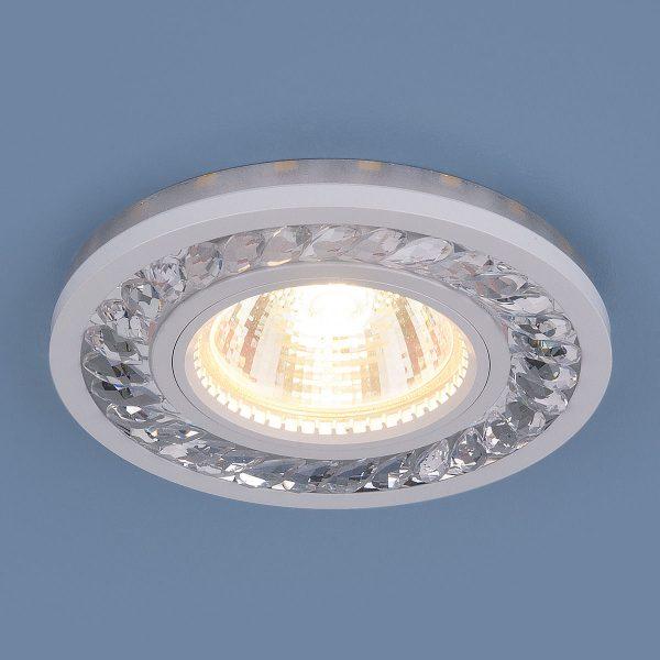 Точечный светодиодный светильник 8355 MR16 CL/WH прозрачный/белый 2