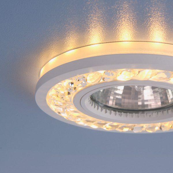 Точечный светодиодный светильник 8355 MR16 CL/WH прозрачный/белый 4