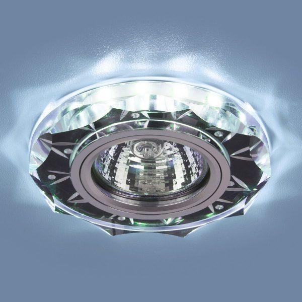 Точечный светодиодный светильник 8356 MR16 CL/BK прозрачный/черный 1