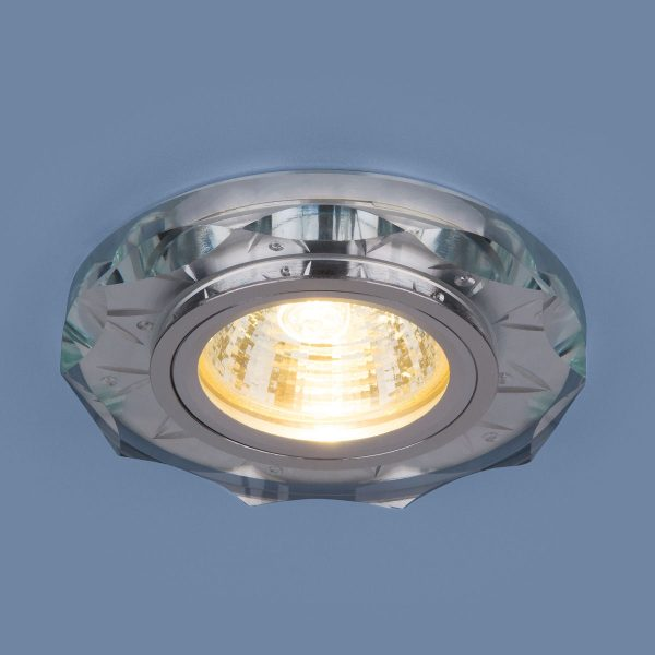 Точечный светодиодный светильник 8356 MR16 CL/WH прозрачный/белый 2