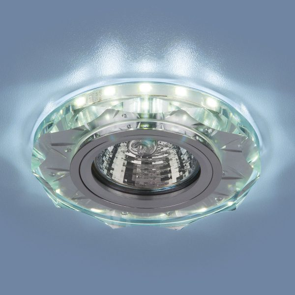Точечный светодиодный светильник 8356 MR16 CL/WH прозрачный/белый 1