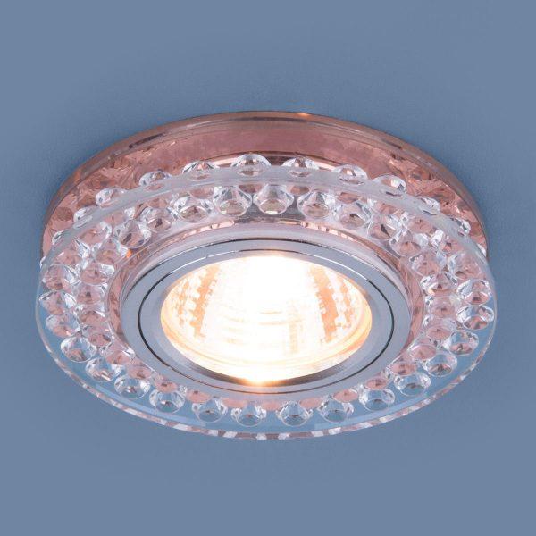 Точечный светодиодный светильник 8381 MR16 CL/GC прозрачный/тонированный 2