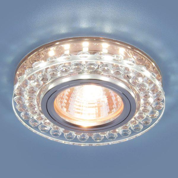 Точечный светодиодный светильник 8381 MR16 CL/GC прозрачный/тонированный