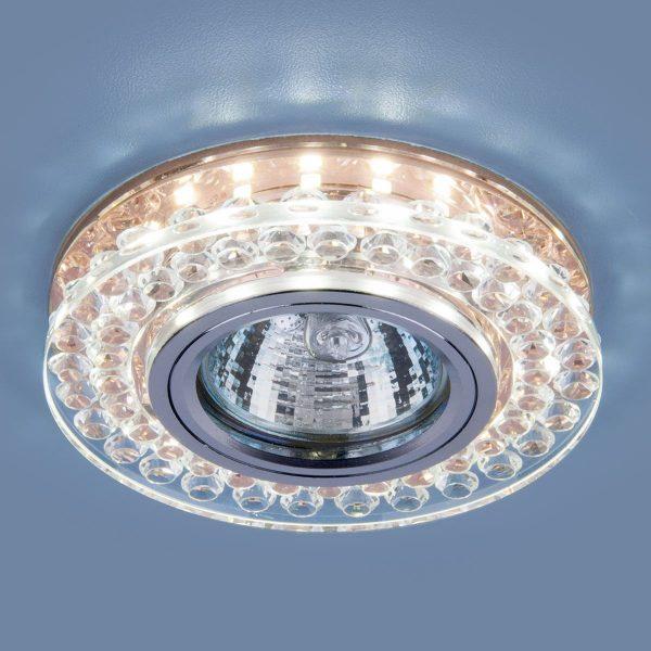Точечный светодиодный светильник 8381 MR16 CL/GC прозрачный/тонированный 1