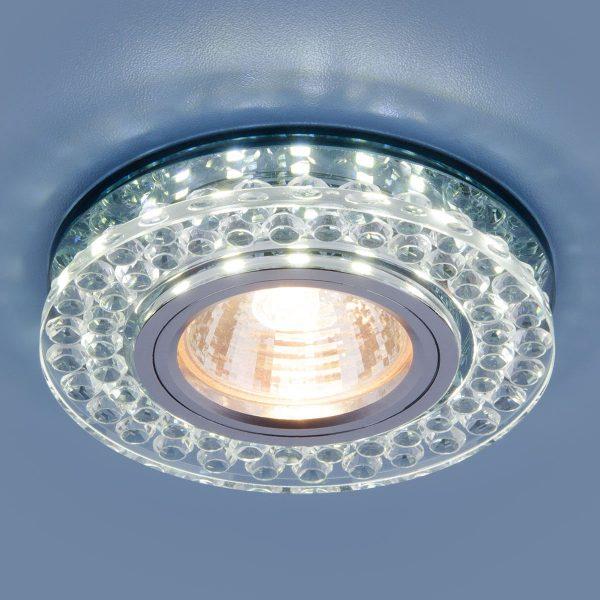 Точечный светодиодный светильник 8381 MR16 CL/SBK прозрачный/дымчатый