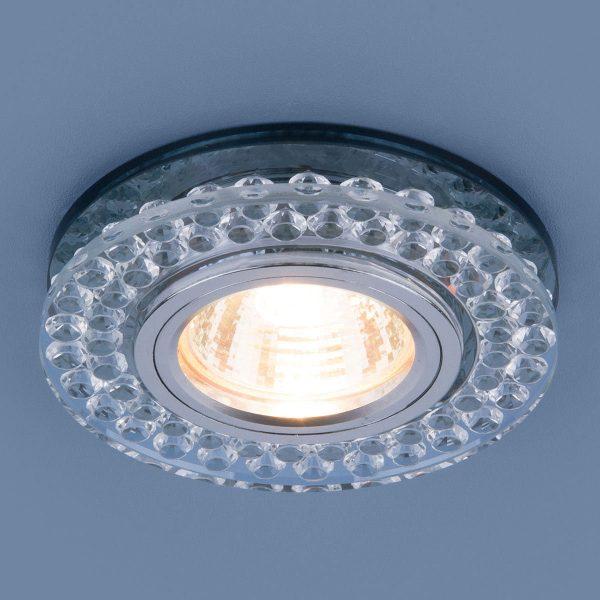 Точечный светодиодный светильник 8381 MR16 CL/SBK прозрачный/дымчатый 2