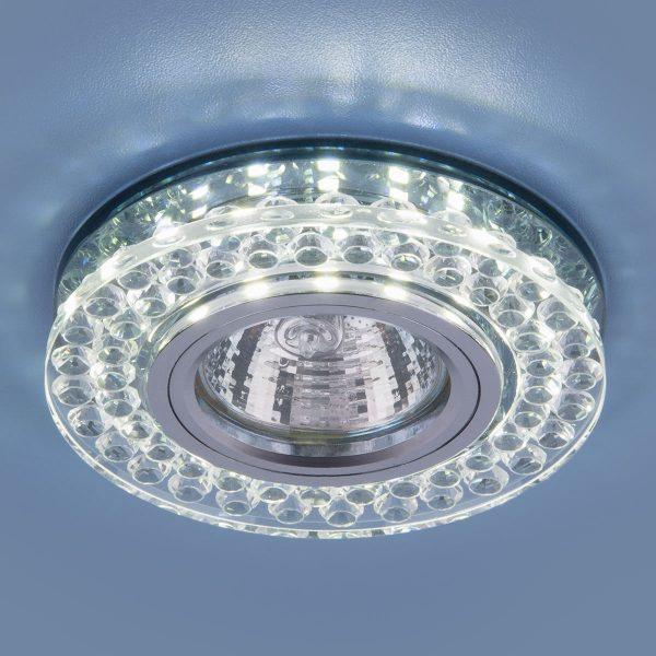 Точечный светодиодный светильник 8381 MR16 CL/SBK прозрачный/дымчатый 1