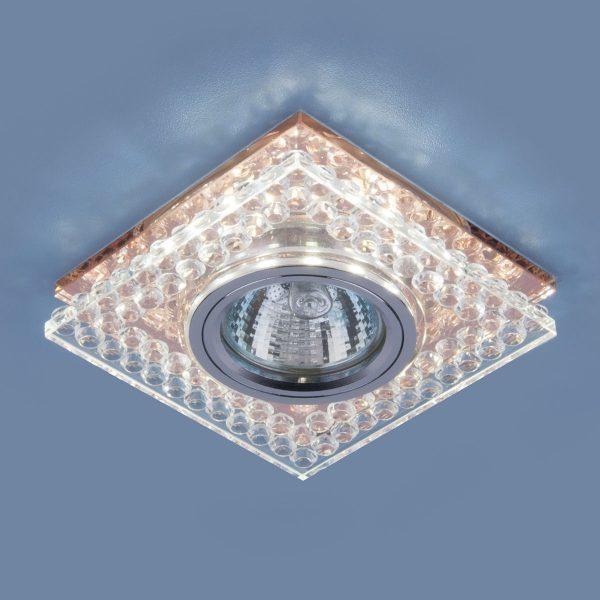 Точечный светодиодный светильник 8391 MR16 CL/GC прозрачный/тонированный 2