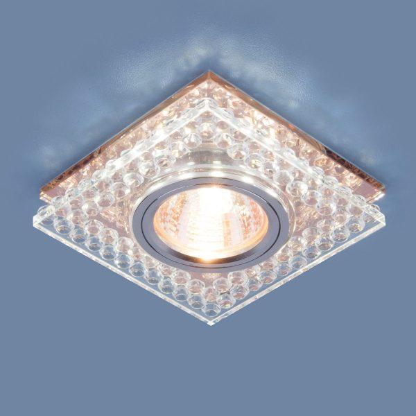 Точечный светодиодный светильник 8391 MR16 CL/GC прозрачный/тонированный