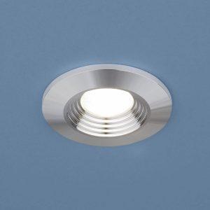Точечный светодиодный светильник 9903 LED 3W COB SL серебро