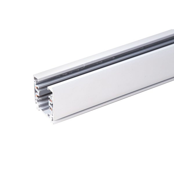 Трехфазный шинопровод TRL-1-3-200-WH 2 метра белый