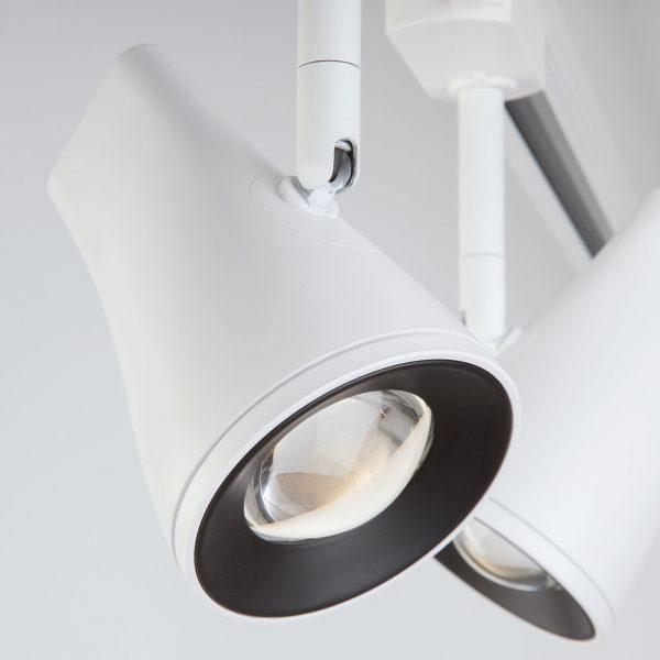 Трековый светодиодный светильник для однофазного шинопровода Hardi Белый 9W 4200K LTB18 4