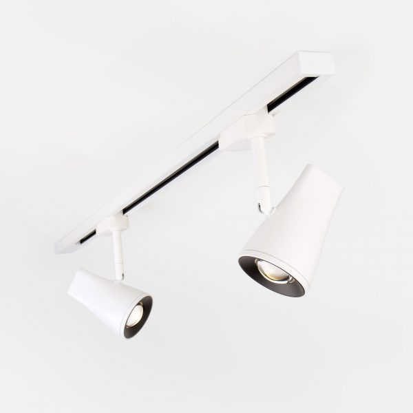 Трековый светодиодный светильник для однофазного шинопровода Hardi Белый 9W 4200K LTB18 3