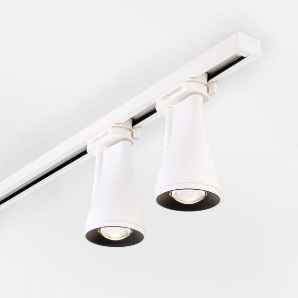 Трековый светодиодный светильник для однофазного шинопровода Hardi Белый 9W 4200K LTB18 7
