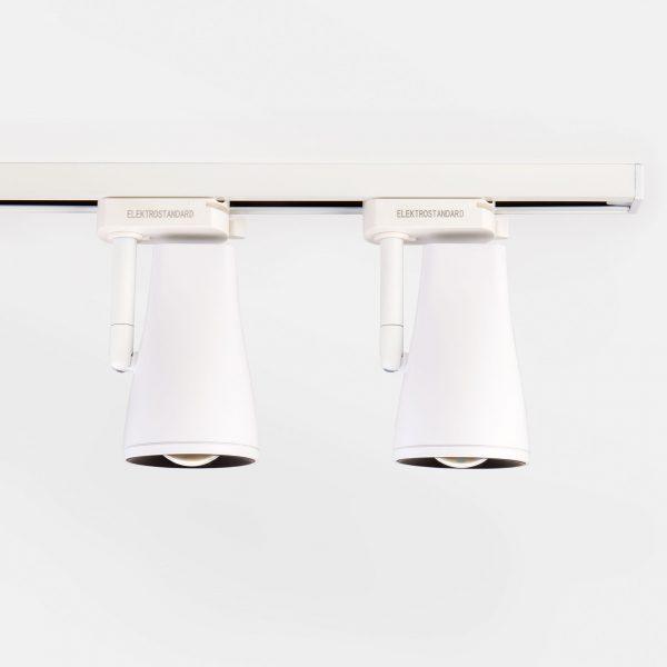 Трековый светодиодный светильник для однофазного шинопровода Hardi Белый 9W 4200K LTB18 10