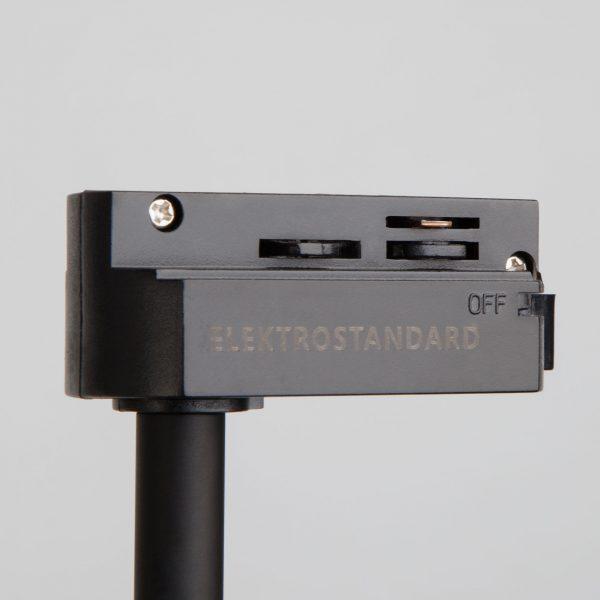 Трековый светодиодный светильник для однофазного шинопровода Hardi Черный 9W 4200K LTB18 9