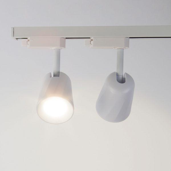 Трековый светодиодный светильник для однофазного шинопровода Joli Белый 9W 4200K LTB19 4