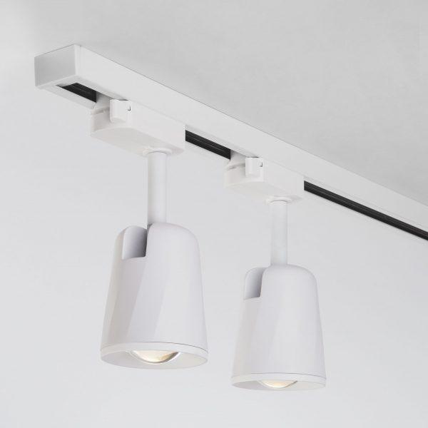 Трековый светодиодный светильник для однофазного шинопровода Joli Белый 9W 4200K LTB19 3