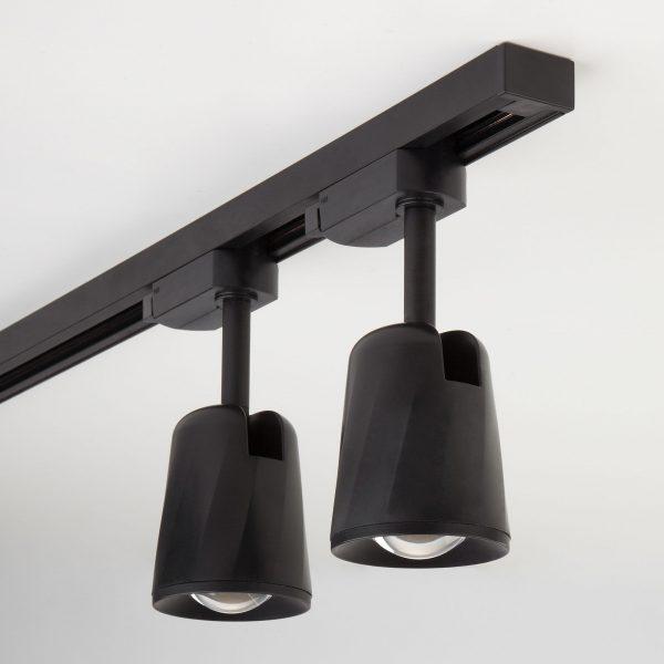 Трековый светодиодный светильник для однофазного шинопровода Joli Черный 9W 4200K LTB19 3