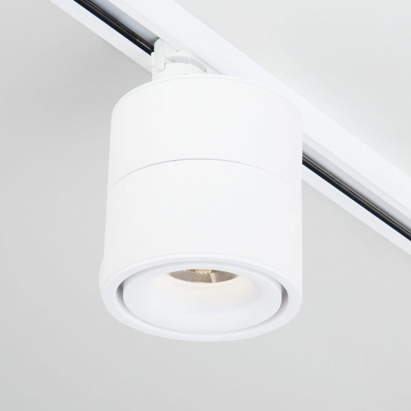 Трековый светодиодный светильник для однофазного шинопровода Klips Белый 15W 4200K LTB21 7