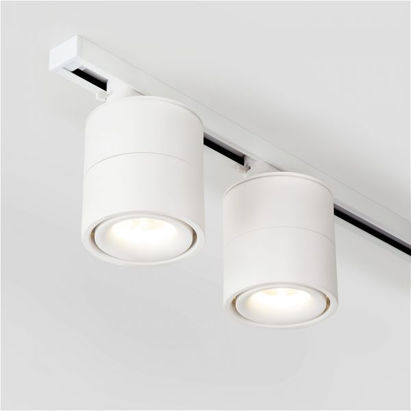 Трековый светодиодный светильник для однофазного шинопровода Klips Белый 15W 4200K LTB21 4