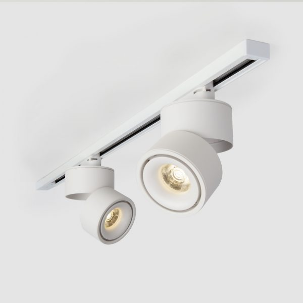 Трековый светодиодный светильник для однофазного шинопровода Klips Белый 15W 4200K LTB21 3
