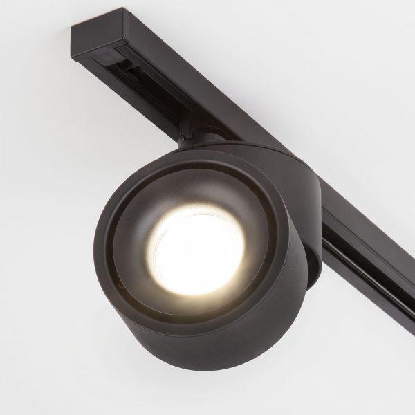 Трековый светодиодный светильник для однофазного шинопровода Klips Черный 15W 4200K LTB21 6