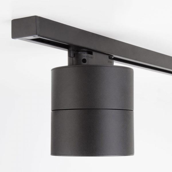 Трековый светодиодный светильник для однофазного шинопровода Klips Черный 15W 4200K LTB21 7
