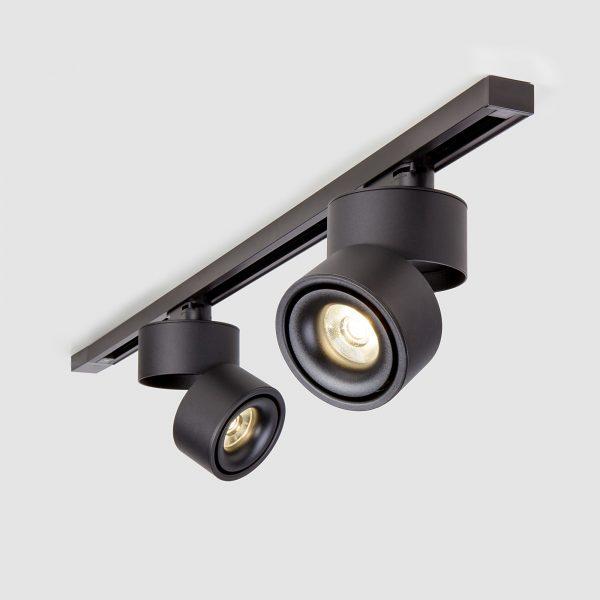 Трековый светодиодный светильник для однофазного шинопровода Klips Черный 15W 4200K LTB21 3