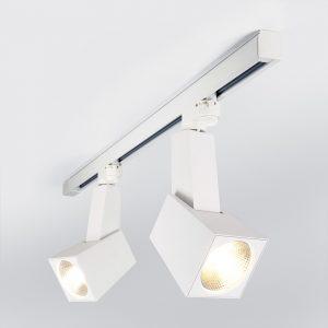 Трековый светодиодный светильник для трехфазного шинопровода Perfect Белый 38W 3300K LTB13