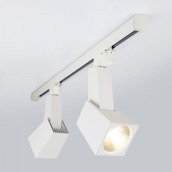 Трековый светодиодный светильник для трехфазного шинопровода Perfect Белый 38W 4