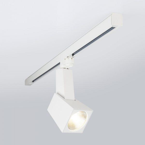 Трековый светодиодный светильник для трехфазного шинопровода Perfect Белый 38W 7