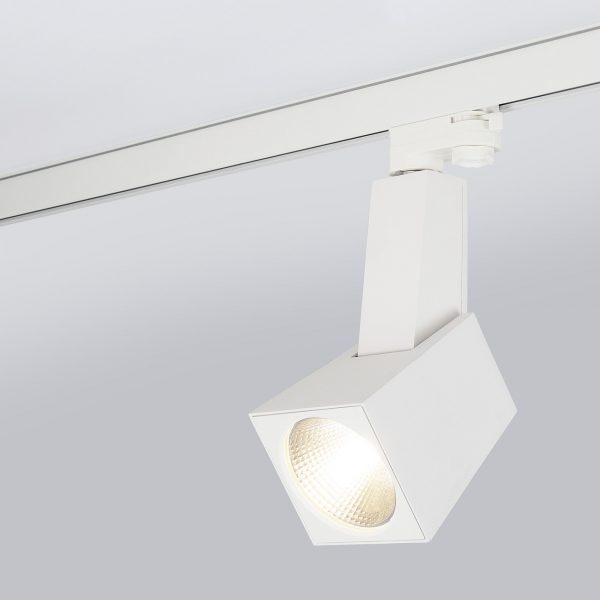 Трековый светодиодный светильник для трехфазного шинопровода Perfect Белый 38W 6