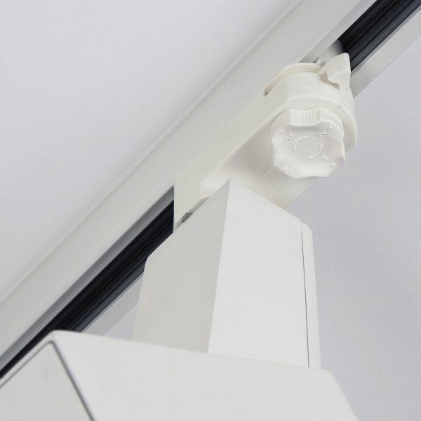 Трековый светодиодный светильник для трехфазного шинопровода Perfect Белый 38W 5