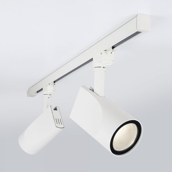 Трековый светодиодный светильник для трехфазного шинопровода Vista Белый 32W 4