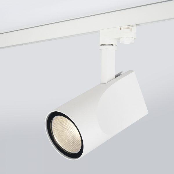 Трековый светодиодный светильник для трехфазного шинопровода Vista Белый 32W 8