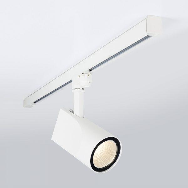 Трековый светодиодный светильник для трехфазного шинопровода Vista Белый 32W 6