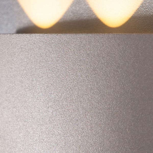 TWINKY TRIO белый уличный настенный светодиодный светильник 1551 TECHNO LED 3