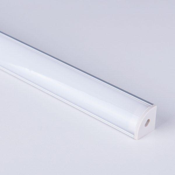 Угловой алюминиевый профиль для светодиодной ленты LL-2-ALP008 3