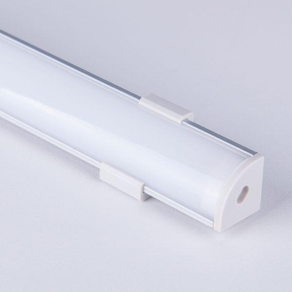 Угловой алюминиевый профиль для светодиодной ленты LL-2-ALP008 4