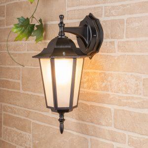 уличный настенный светильник GL 1004D черный