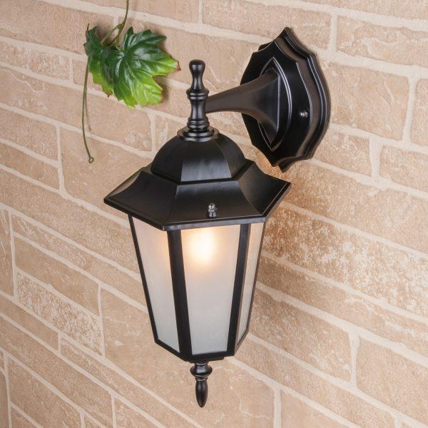 уличный настенный светильник GL 1004D черный 1