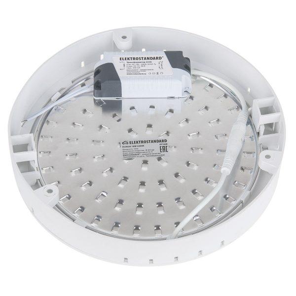 Универсальный накладной/встраиваемый потолочный светодиодный светильник DLR020 18W 4200K 6