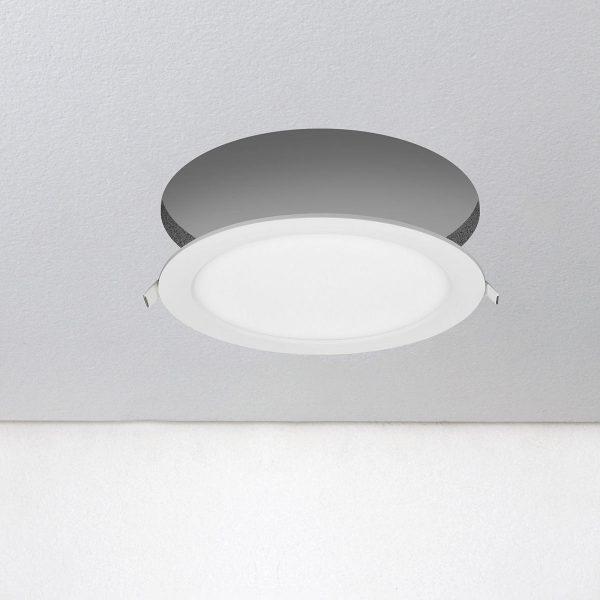 Универсальный накладной/встраиваемый потолочный светодиодный светильник DLR020 18W 4200K 2