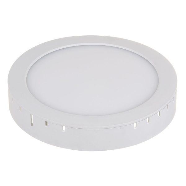 Универсальный накладной/встраиваемый потолочный светодиодный светильник DLR020 18W 4200K 7
