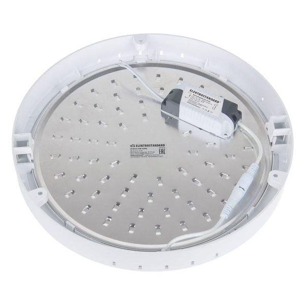 Универсальный накладной/встраиваемый потолочный светодиодный светильник DLR020 24W 4200K 6