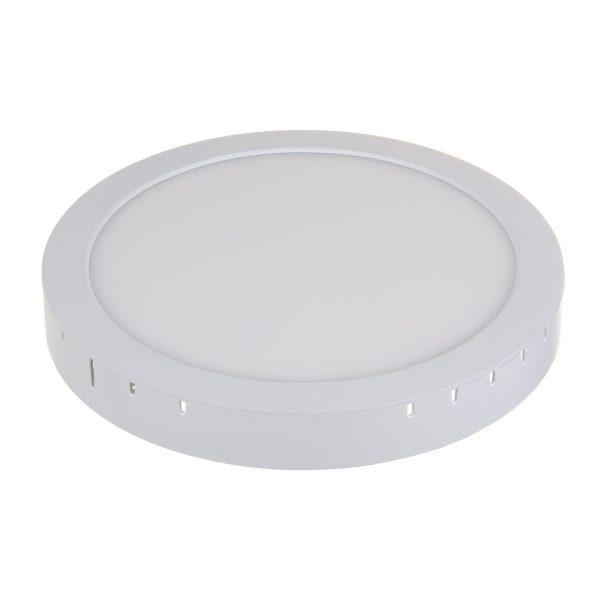 Универсальный накладной/встраиваемый потолочный светодиодный светильник DLR020 24W 4200K 7