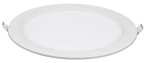 Универсальный накладной/встраиваемый потолочный светодиодный светильник DLR020 24W 4200K 4