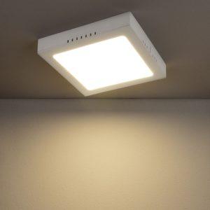 Универсальный накладной/встраиваемый потолочный светодиодный светильник DLS020 18W 4200K