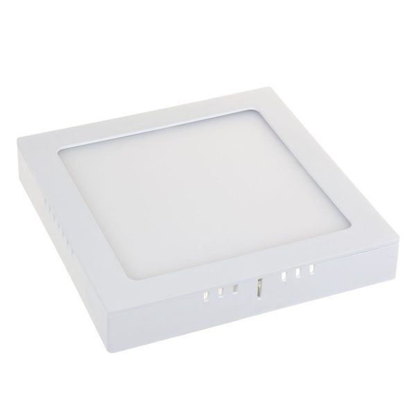 Универсальный накладной/встраиваемый потолочный светодиодный светильник DLS020 18W 4200K 4
